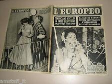 EUROPEO=1955/2=GINA LOLLOBRIGIDA=LUCIANA ANGIOLILLO=LYLA ROCCO=GINO PINTO=