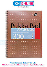 Metallic A4 Jotta Exec Pad Business Note Book 300 Pages 80gsm Wirebound PukkaPad