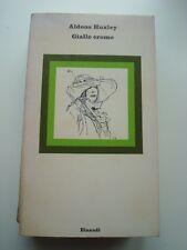 ALDOUS HUXLEY-GIALLO CROMO-EINAUDI 1979