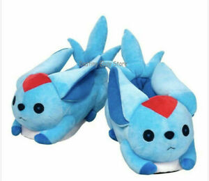 Limted New Gift Final Fantasy 14 Peridot Carbuncle Shoes Warm Slippers FF14 Cute