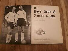 Garçons LIVRE DU FOOTBALL 1966 & FA Book for Boys no.18 1966