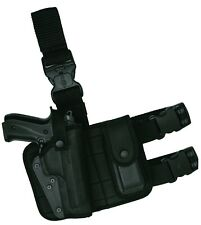 Tactical Pistol Gun Drop Leg Thigh Holster W/Magazine Pouch Right Hand, Akar
