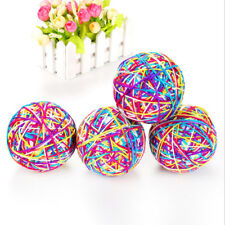 Mixed Colors Pet Dog Cat Moving Funny Rolling Ball Kitten Training Pet Toy LH