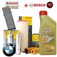 INSPEKTIONSKIT ™L CASTROL EDGE 0W30 8LT 4 FILTER BOSCH BMW 3 E90 330D 170 KW