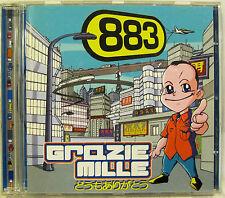 """883 """"GRAZIE MILLE"""" cd con occhiali mint"""
