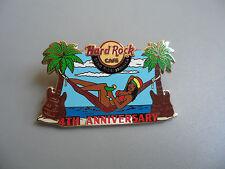 Hard Rock Cafe Ocho Rios Jamaica 2010 - 4th Anniversary Pin