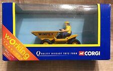 Corgi Diecast Dumper Truck Wimpey Tipping Dumper Working Features Rare