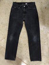 desde España Levi's 505 jeans grises W34 eu 42 L32 auténtico vintage (e6)