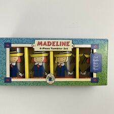 Madeline 4-Piece Tumbler Set Place Glass 4 inch Treasure Craft