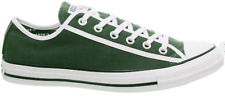 Converse Chuck Taylor Ox mens canvas lo top trainers green fir/white/white 10