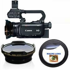 HD3 WIDE FISHEYE LENS + MACRO LENS FOR Canon XA11 Compact Full HD Camcorder