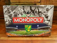 Monopoly Norwich City Football Club FC Edition 2015 - Contents Sealed