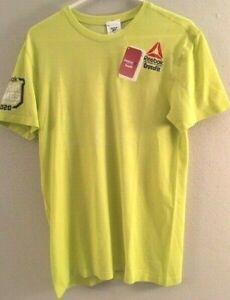 Reebok Men's Shirt CrossFit Games 2020 MyoKnit Tee Shirt, Retail $60 Size M, NEW