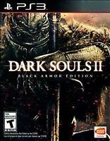 Dark Souls II Black Armor Edition Steel Case PlayStation 3 PS3