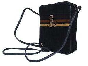 Roberta di Camerino Velour Cross-Body Shoulder Bag RS17898L