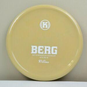 🔥♻️ Kastaplast K1 Berg, SPECIAL Regrind Disc, White Stamp, 170g