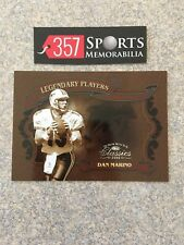 2006 DONRUSS CLASSICS LEGENDARY PLAYERS BRONZE DAN MARINO #D /250 SP DOLPHINS