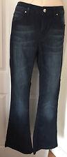 Jasper Conran Dark Blue Denim Jeans Size 12 L34