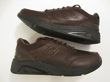 Men's NEW BALANCE MW928 V2 Walking leather sneaker shoe brown size 10.5 D Medium