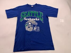 Vintage Champion Seattle Seahawks T Shirt Size XL RARE!!! 80s NFL 12th Man Med M
