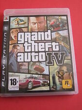 Jeux PLAYSTATION 3 PS3 GRAND THEFT AUTO IV GTA IV