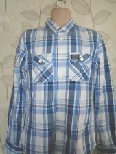 Superdry Check Long Sleeve Long Sleeve Shirt Size- Large