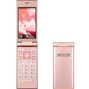 KYOCERA 701KC DIGNO KEITAI 2 ANDROID FLIP PHONE PINK UNLOCKED JAPAN 501KC 702KC