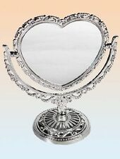 Heart Plastic Frame Decorative Mirrors