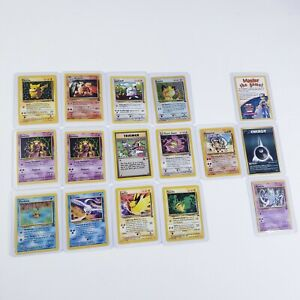 Pokemon Black Star Promo and Japanese Lot x16 ALL RARE Card Game Collection