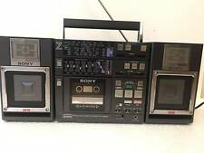 Vintage Sony CFS-9000 Radio Cassette Recorder GhettoBlaster BoomBox Line in 46W
