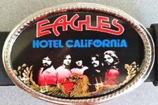 Eagles Rock Group Epoxy Photo Music Belt Buckle - New!