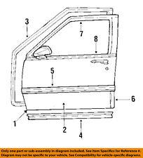 GM OEM Front Door-Shell Frame Panel Left 12503299