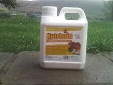 NUTRIMIN CIDER APPLE VINEGAR SUPPLIMENT with GARLIC poultry/livestock 1lt