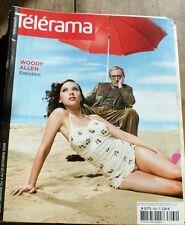 *TELERAMA 10/2008*  WOODY ALLEN + KOKOPELLI et les semences + Morandini
