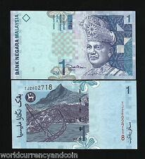 MALAYSIA 1 RINGGIT P39 2000 MILLENNIUM LAKE MOUNTAIN UNC CURRENCY MONEY BANKNOTE