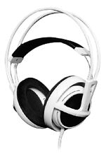 SteelSeries Siberia Full-size Gaming Headset Headphones w/Microphone (WHITE)