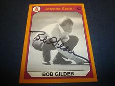 Bob Gilder PGA Tour 1990 Arizona State #116 Signed Authentic Autograph Card M7