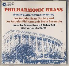 Brown, Tull - Remsen: Philharmonic Brass (Crystal Records) Like New