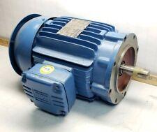 "New Weg 2 Hp Ac Electric Motor 3Ph 460V 145Tc Frame 7/8"" Shaft 00218Ep3Er145Tc"