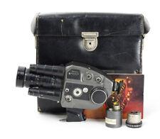 Beaulieu Movie Camera 4008 ZM Angenieux Lens Zoom 1.9/8-64mm Type 8x8B No1265385
