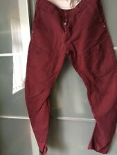 Jeans & Co Workwear, Homme Jeans, rouge, 32/32