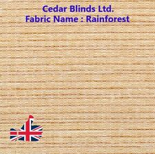 SLATS - Rainforest  3.5 inch vertical blind fabric Slats