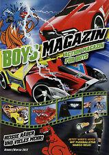 Prospekt Mattel Boys Magazin Herbst Winter 2012 Hot Wheels Cars Flexforce Batman