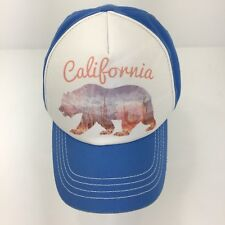 California Element Skateboarding Hat Blue Baseball Cap California Bear