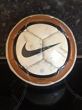 RARE Retro Nike Catalyst Team Ball White Gold Used NikeTeam Football Ball Size 4