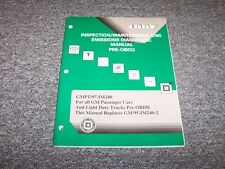 1997 GM Cars & Light Duty Trucks Emissions Diagnostic Service Inspection Manual