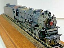 Vtg BRASS HO M1a PRR 4-8-2 Mountain Steam Locomotive Made in Japan Train Engine