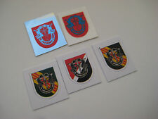 G.I Joe - Green Beret Cap Stickers - Set of Five - B2G1F
