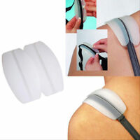 2x Silicone Bra Strap Cushion Holder Non slip Shoulder Pad Relief Pain Supplies