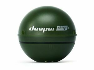 Deeper Smart Sonar CHIRP+ Fishfinder WiFi GPS Military Green NEW 2019
